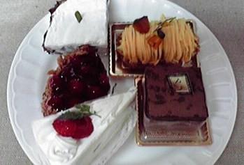 ケーキいろいろ。