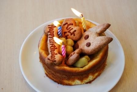 バルトくんケーキ