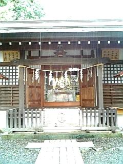蚕影神社本殿