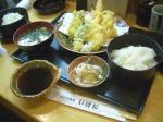 天ぷら定食@いけだ