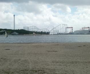 海の公園南口(海岸)