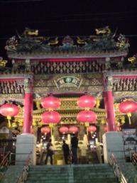 関帝廟(春節の飾り)