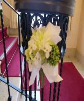 階段とお花2