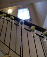 階段とお花1