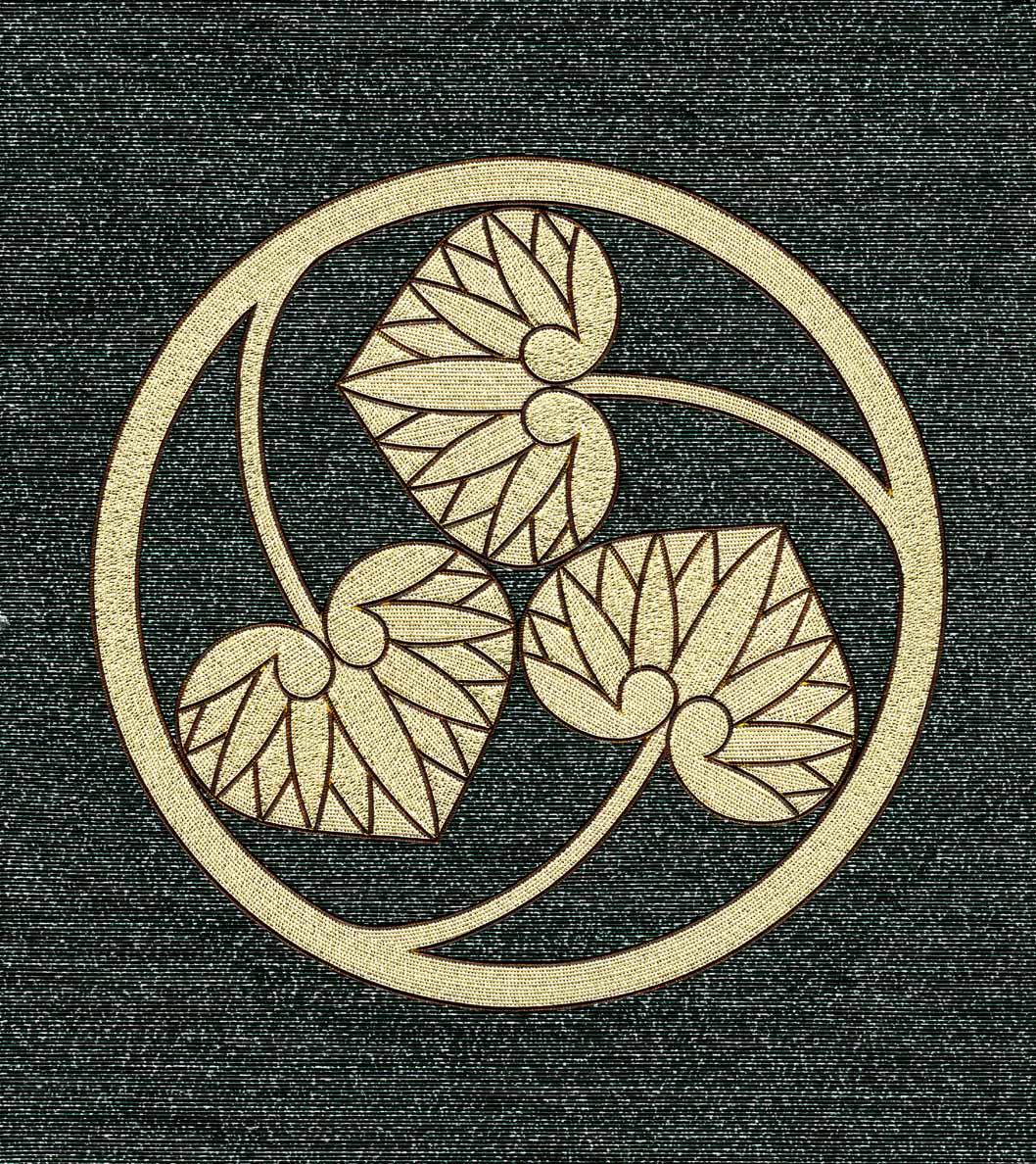 変わり三つ葵の丸