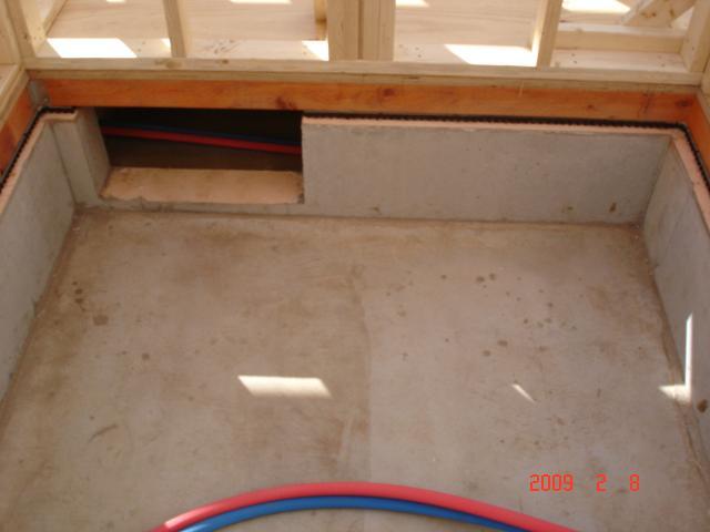 20090208風呂場の掘り込み
