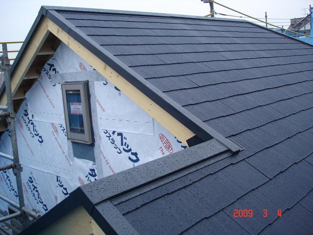 0304屋根&ロフト窓