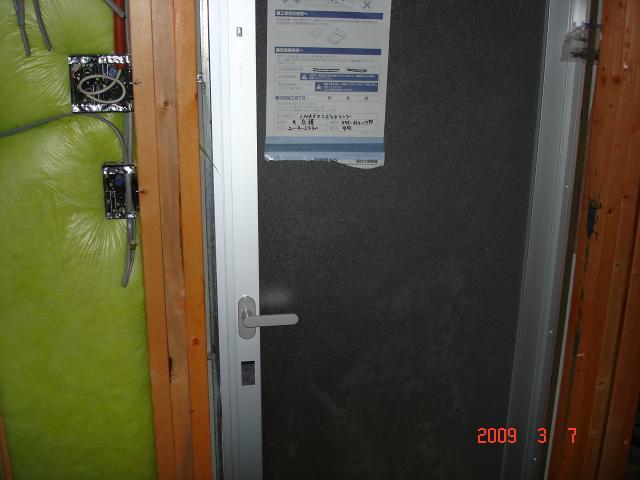 0307浴室扉