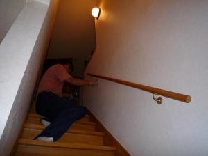 2008.09階段の手すり2