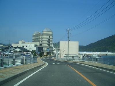 西郷港付近