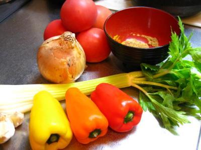 縮 野菜たち