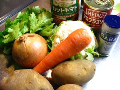 縮 シチュ~の野菜