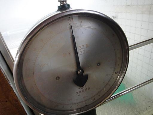 体重計の目盛りは貫が・・・