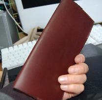2007001無印手帳皮カバー表