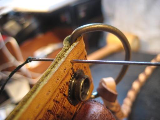 革縫い(初め