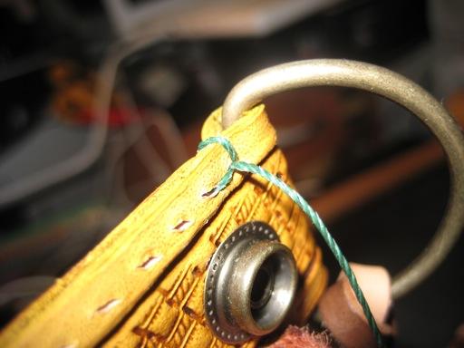 革縫い(初め強度