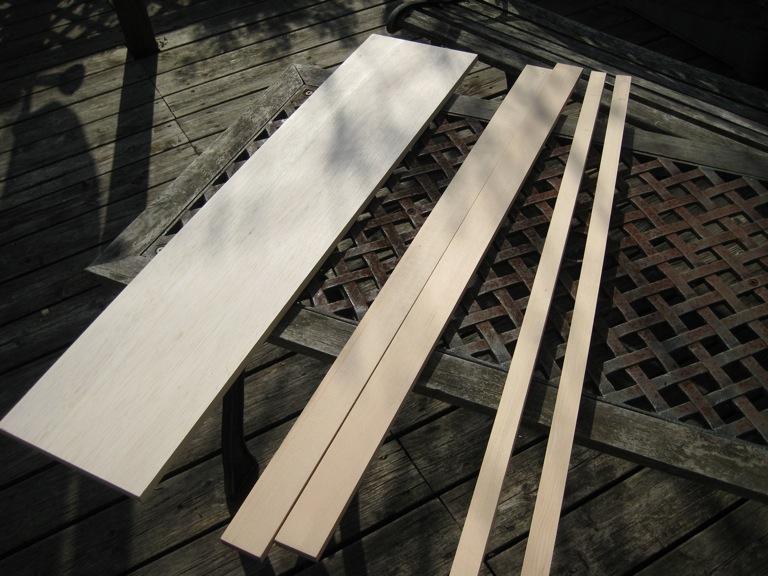 材料の木材