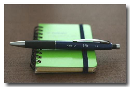 極太芯のシャープペン