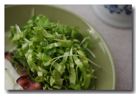 ポン酢ドレッシングサラダ