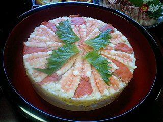 1月2日 圧し寿司