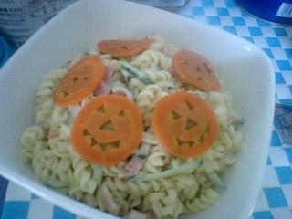 ハロウイン サラダ