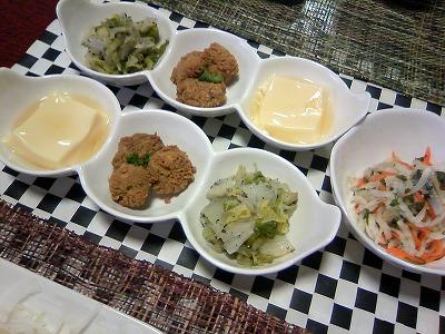 8月1日 たまご豆腐と真子・狼さんの白菜