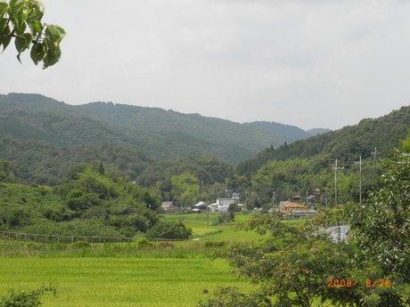 佐用里山風景風景