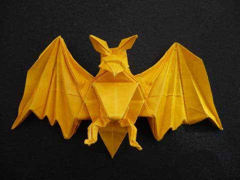 ハート 折り紙:コウモリ 折り紙 折り方-divulgando.net