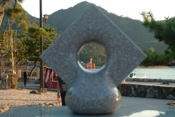 厳島神社6のぞき見