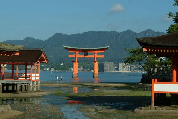 厳島神社参拝3大鳥居