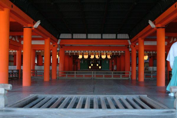 厳島神社参拝6神殿
