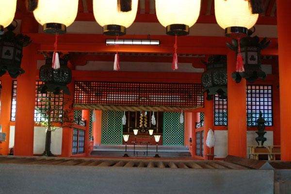 厳島神社参拝11神殿