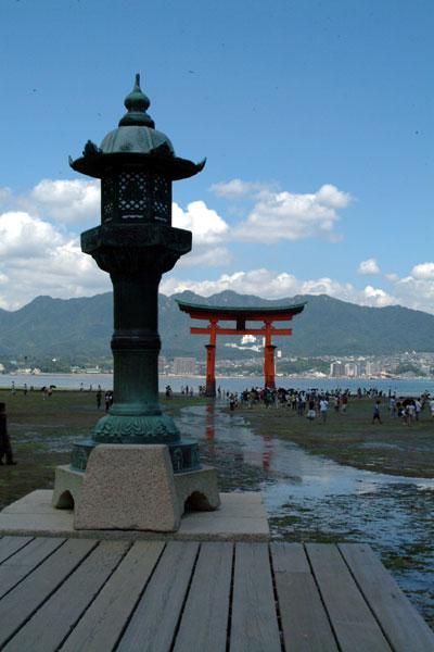 厳島神社参拝20干潮
