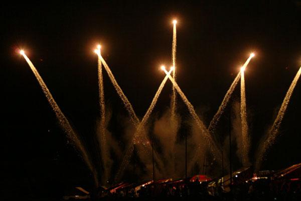 2008紀ノ川祭り花火1