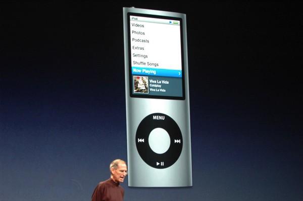 iPod nanoよりジョブズの小ささが気になる