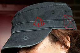 ベヒモス帽子