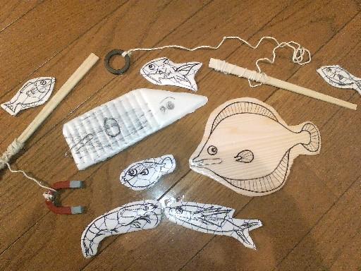 魚釣りセット