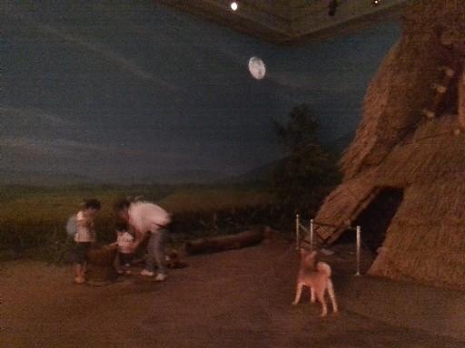 博物館で弥生時代を体験