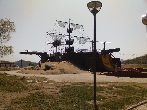 船のアスレチック・後方部