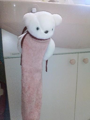 子ども用タオル・・・着装