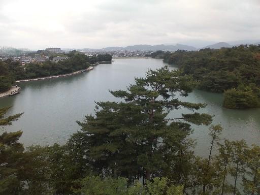 白水公園・展望台からの眺め