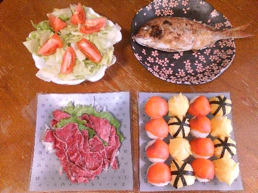 父の日のディナー・2009