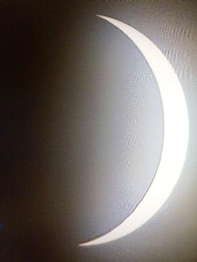 日食・・・部分日食