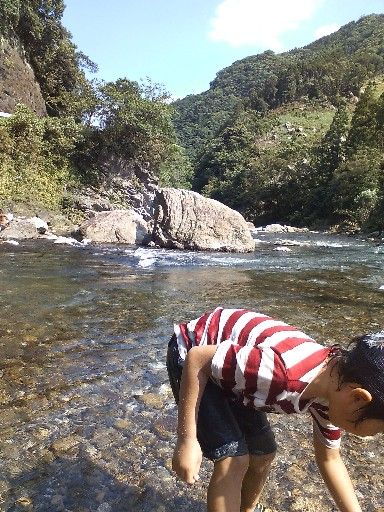 本匠の川で拾う