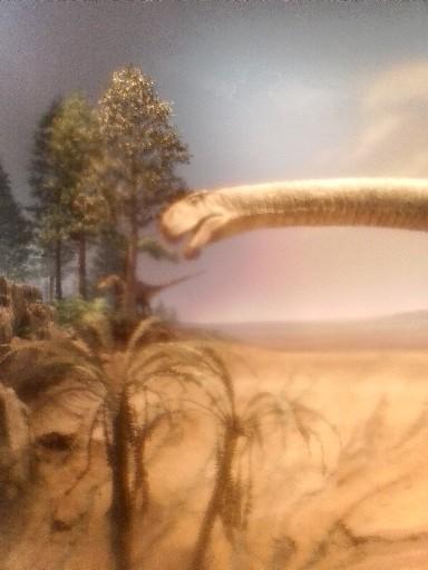 マメンチサウルスのロボット