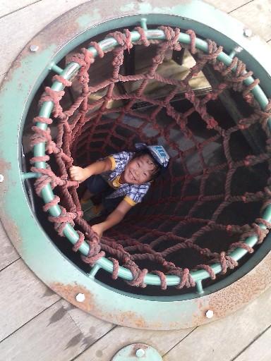 筑紫野市総合公園・穴の中