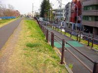 多摩川CR入り口_宿河原側