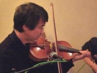 バイオリン奏者とg村山義光氏