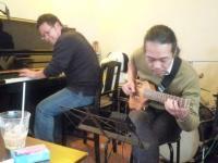 ピアニストのパク・ヨンセさんとg村山義光氏