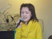 ボーカル受講者の太田朋子さん